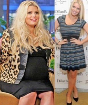 Jessica Simpson Cardio workout