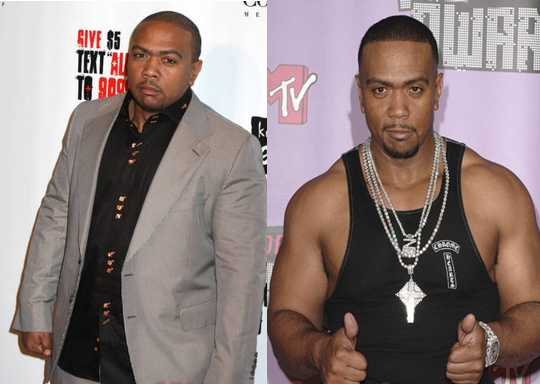 Timbaland. Before and After