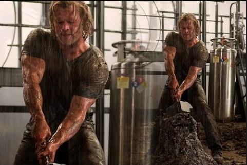Chris Hemsworth Arms