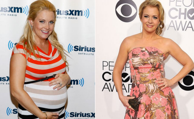 Melissa Joan Hart before/after pregnancy