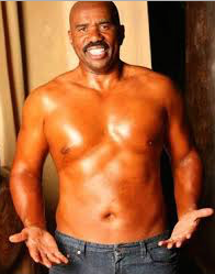 Steve Harvey Belly