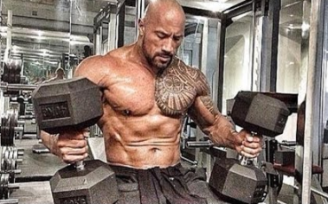 rock dumbbells