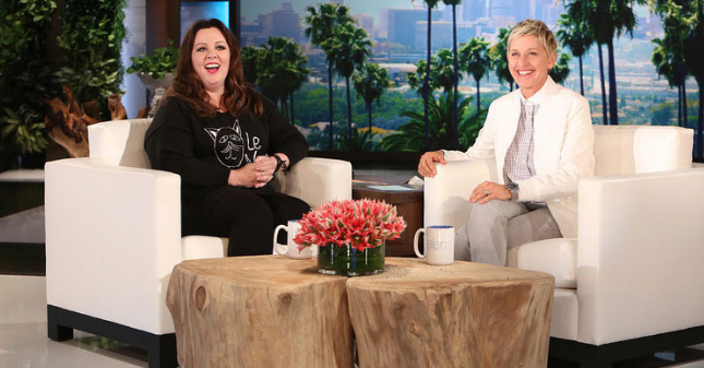 Melissa McCarthy Talks Weight Loss On Ellen