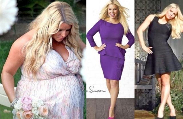 befb2dcd7a6451 Jessica Simpson Weight Loss Transformation - Fat Fighter Blogs ...