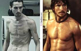 Christian Bale's Batman Workout For 20 LB Muscle Gain