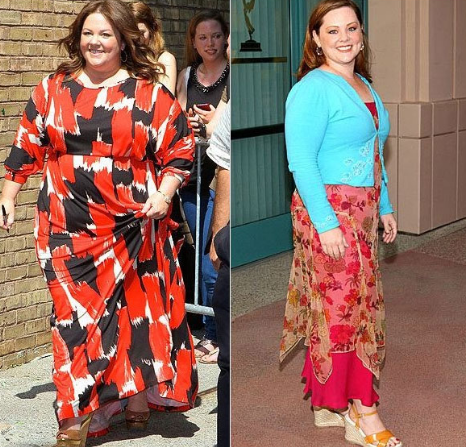 Weight loss of mike and molly star